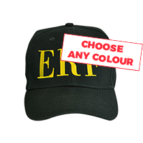 1 x Personalised Cap - Any Colour incl Delivery