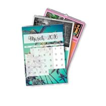 5 x A4 Portrait Personalised Calendar incl Delivery