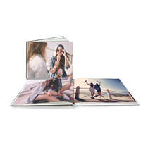 60 Page Lay-Flat Hardcover A4 Landscape Photobook incl Delivery