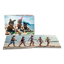 60pg 11x14inch (28x35cm) Pro Softcover Lay-Flat incl Delivery