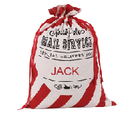 Red Christmas Sack