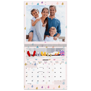 Personalised Calendar<br>Wall